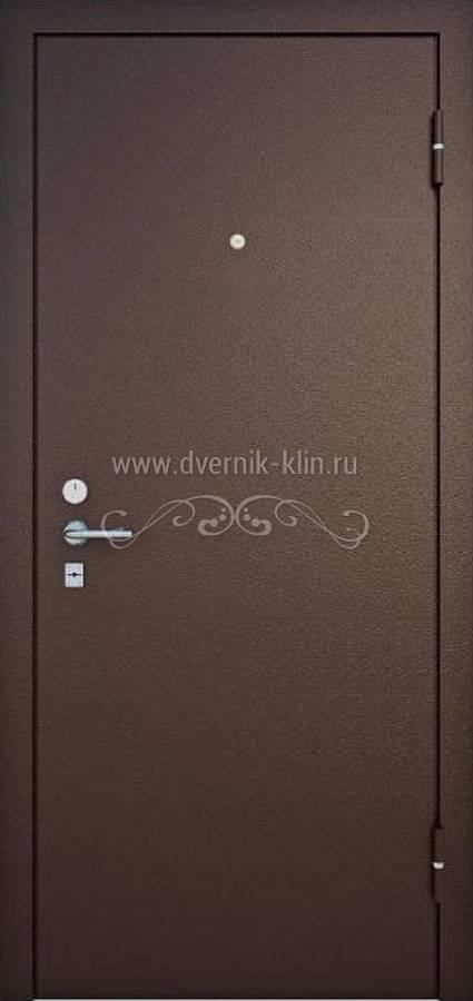 железные двери входные с двухсторонним порошковым напылением