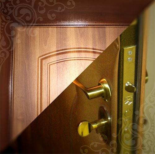 Как обшить двери ламинатом