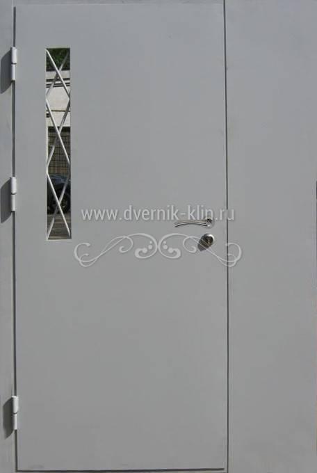 заказать техническую железную дверь на лестничную площадку